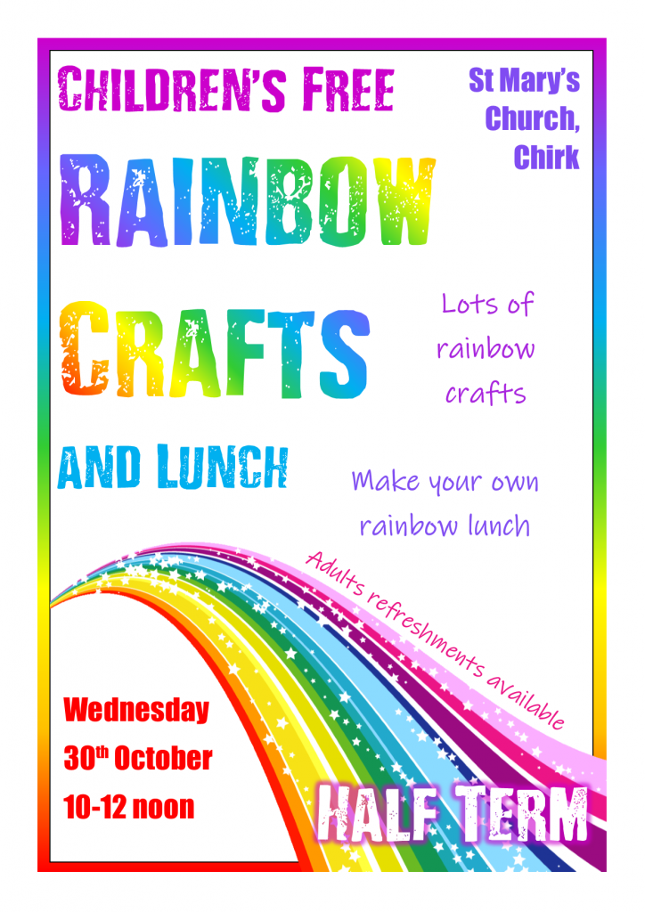 Poster for Rainbow Crafts